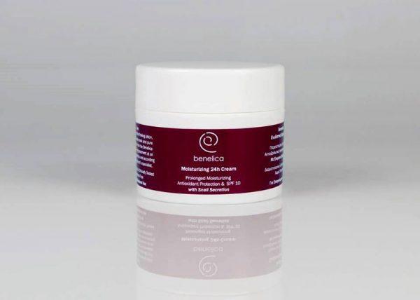 benelica pro moisturizing cream 24h