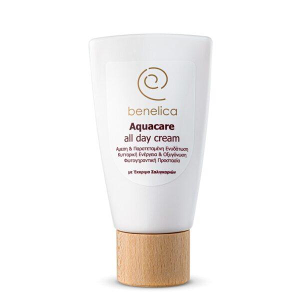 Benelica Aquacare All Day Cream bottle