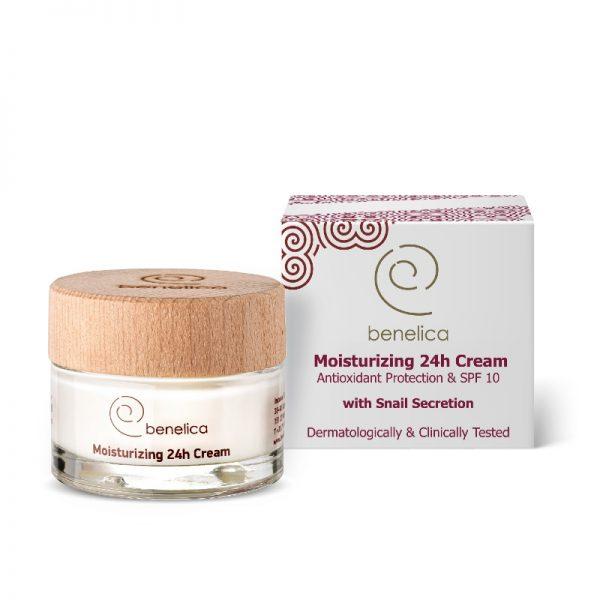 Benelica Moisturising Cream ENG