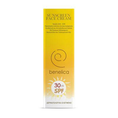 Benelica Sunscreen Face Cream 30SPF Outer